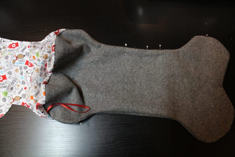 Reversible Dog Stocking: 3ten.ca