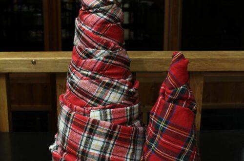 Fabric Christmas Tree: 3ten.ca