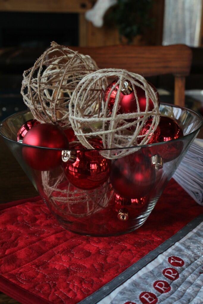 Project: Twine Christmas Ornaments