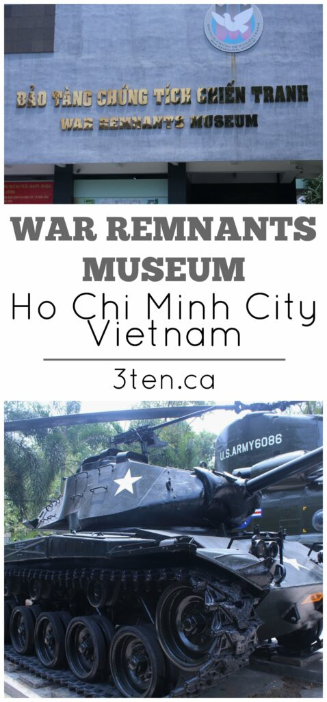 War Remnants Museum: 3ten.ca