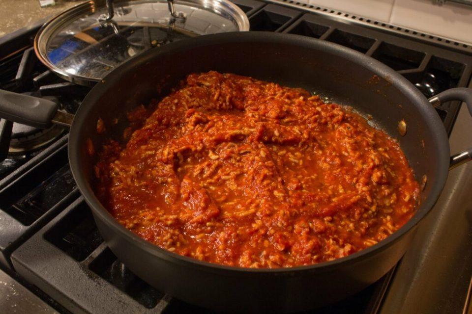 Spaghetti Squash Meat Sauce: 3ten.ca