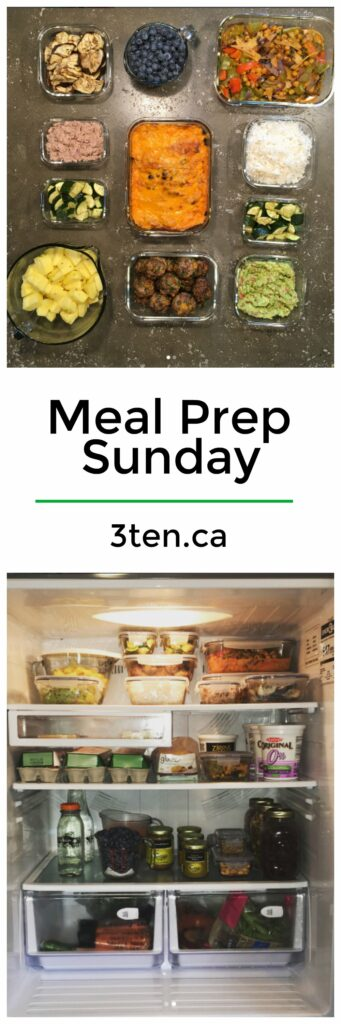 Meal Prep Sunday: 3ten.ca