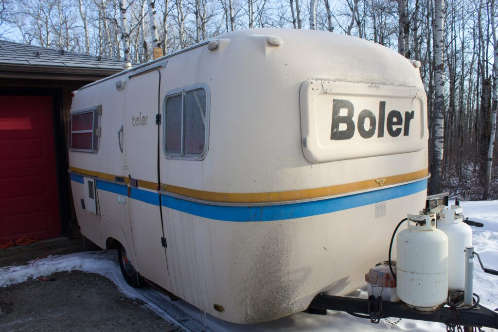 Project: 1978 Boler Before