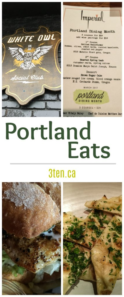 Portland Eats: 3ten.ca