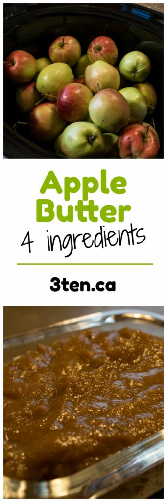 Apple Butter: 3ten.ca