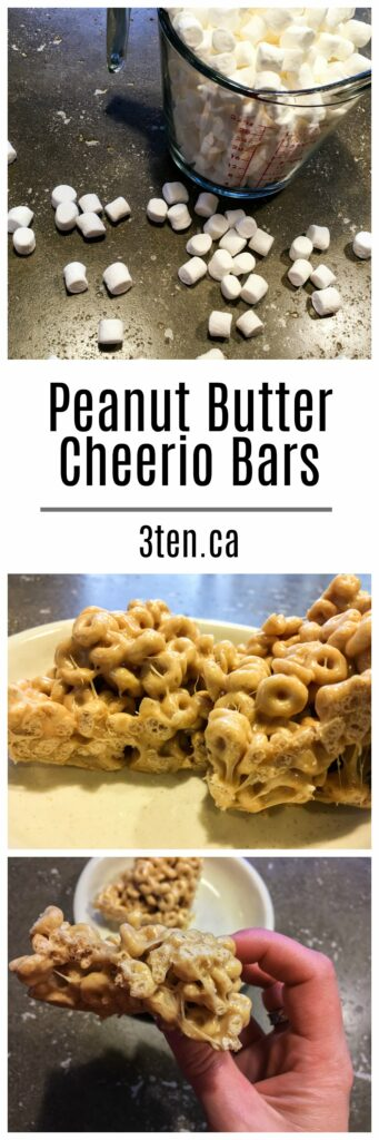 Peanut Butter Cheerio Bars: 3ten.ca