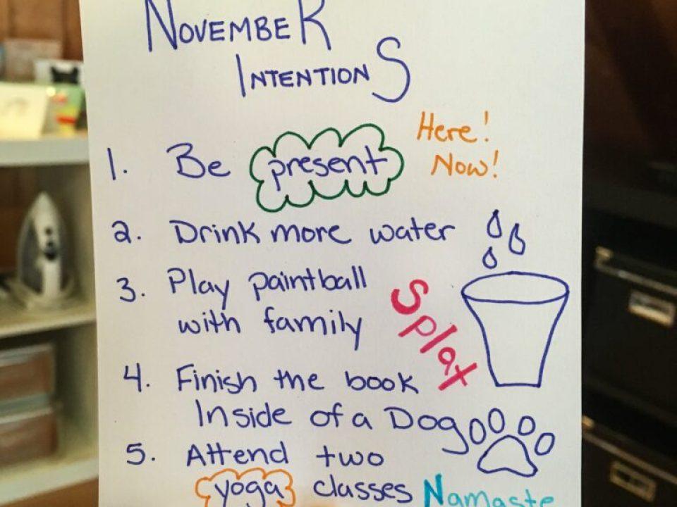 November Intentions: 3ten.ca