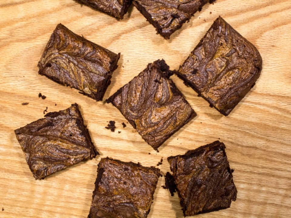 Gluten Free Chocolate Tahini Brownies: 3ten.ca