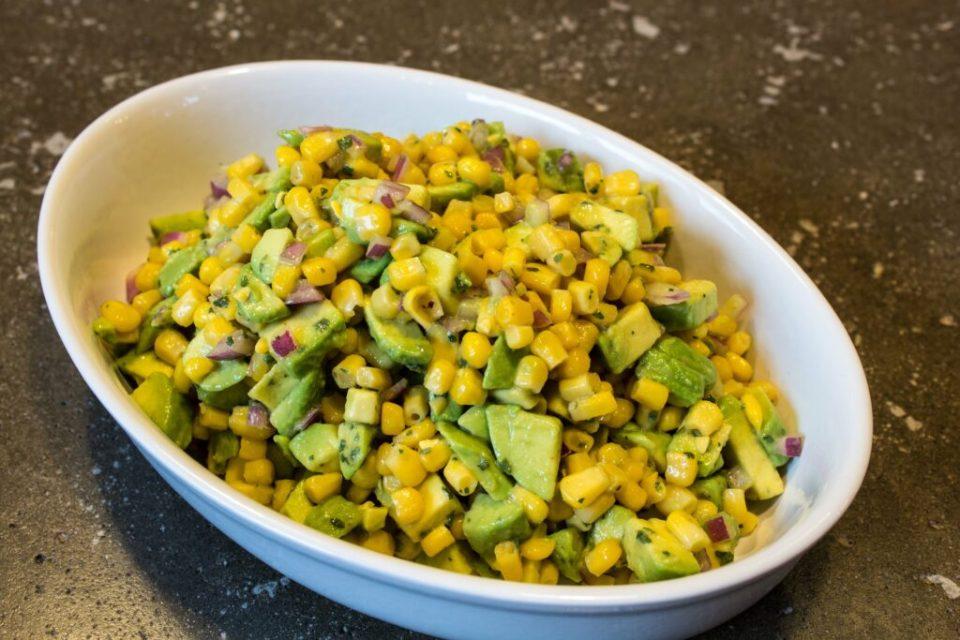 Avocado Corn Salsa: 3ten.ca
