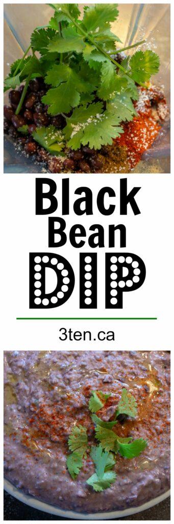 Black Bean Dip: 3ten.ca