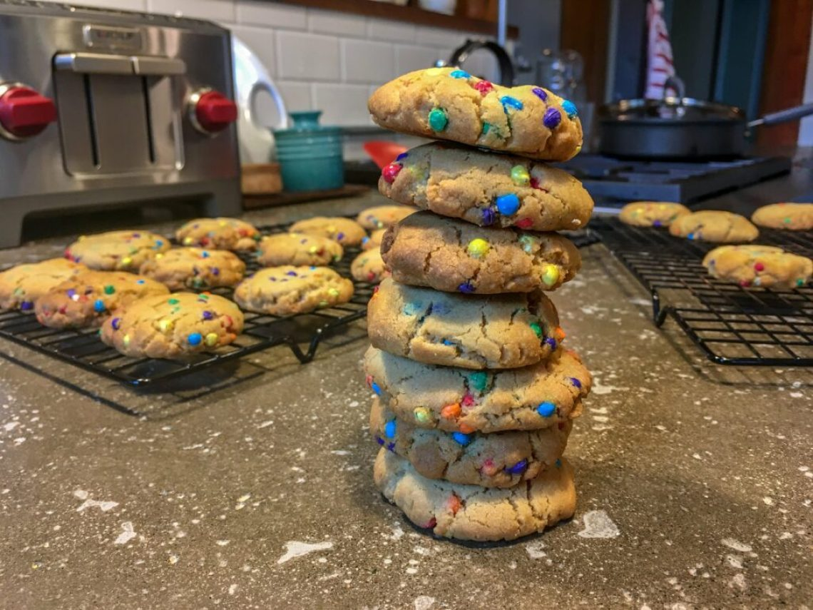 Rainbow Cookies: 3ten.ca