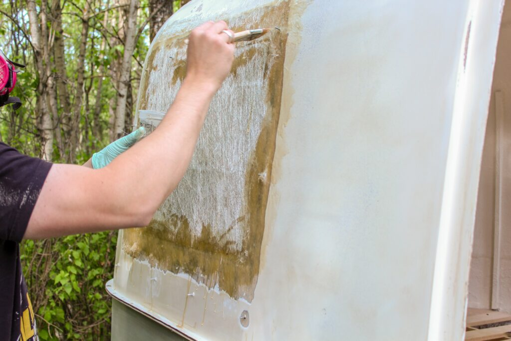 Project: How to Fiberglass a Boler