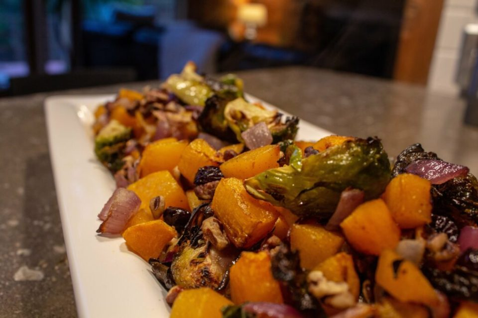 Warm Autumn Salad: 3ten.ca