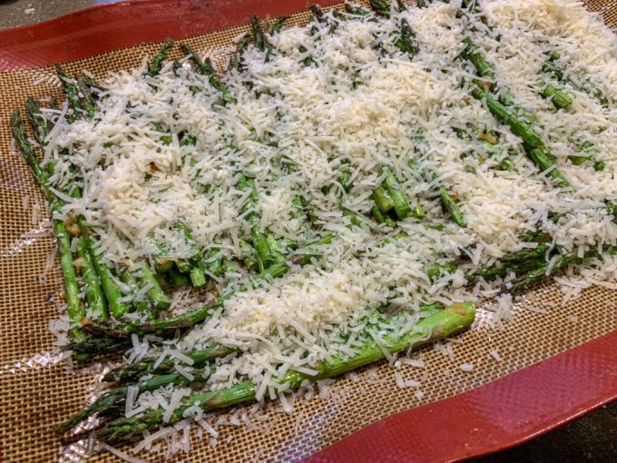 Parmesan Roasted Asparagus: 3ten.ca