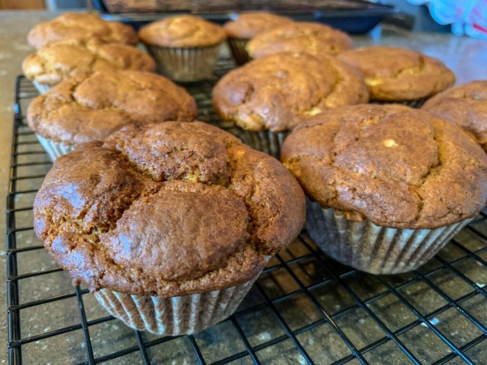 GF Pumpkin Muffins: 3ten.ca