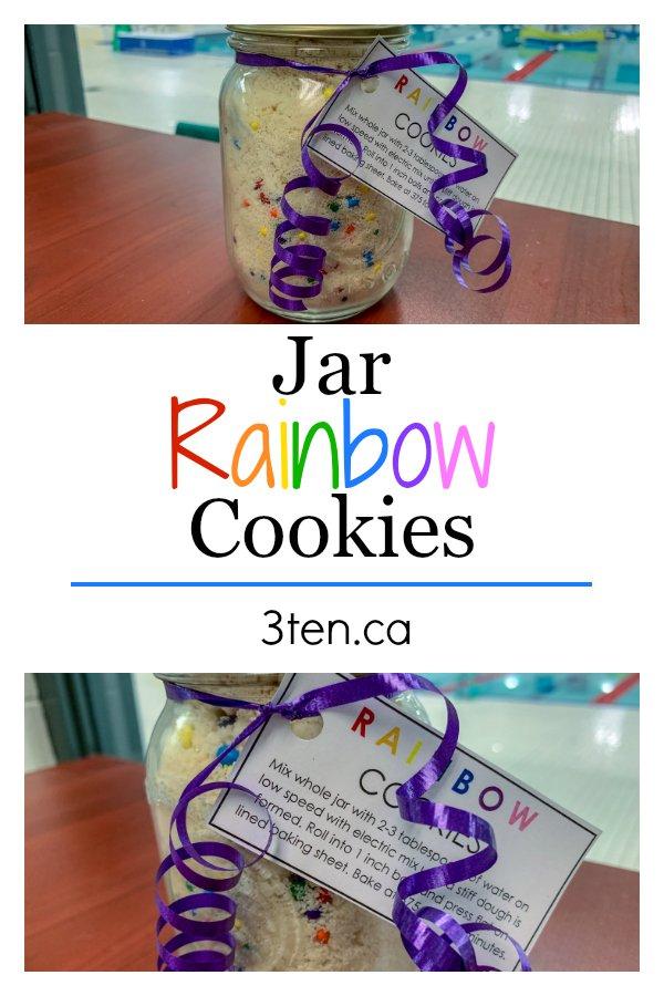 Rainbow Cookie Jars: 3ten.ca