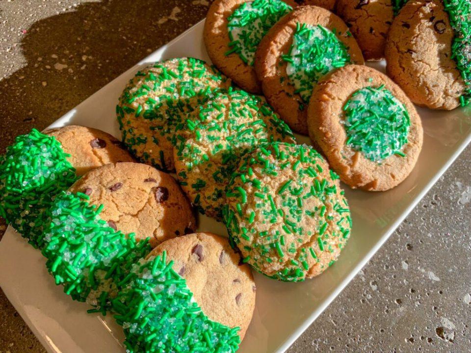 Green St. Patrick's Day Cookies: 3ten.ca