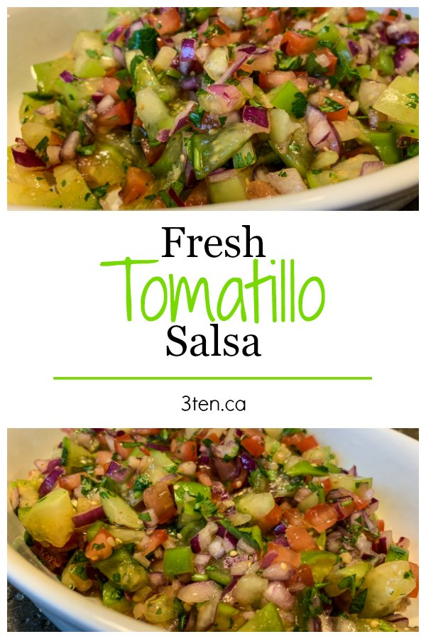 Fresh Tomatillo Salsa: 3ten.ca