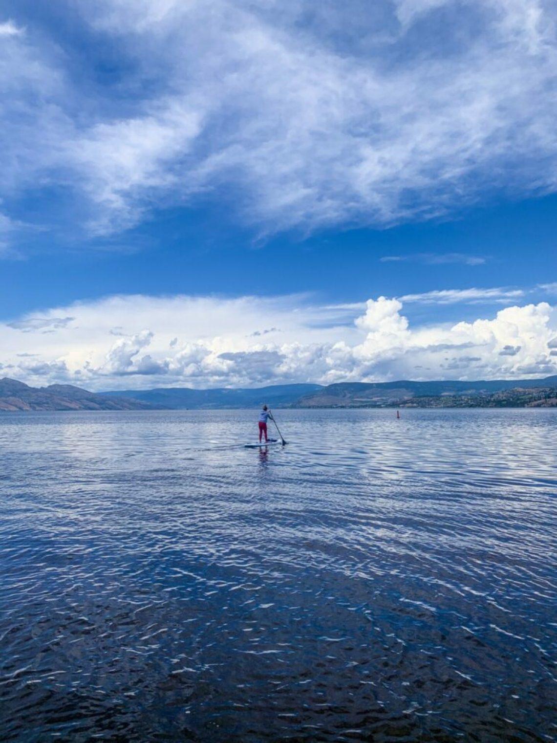 Paddleboarding in Kelowna: 3ten.ca