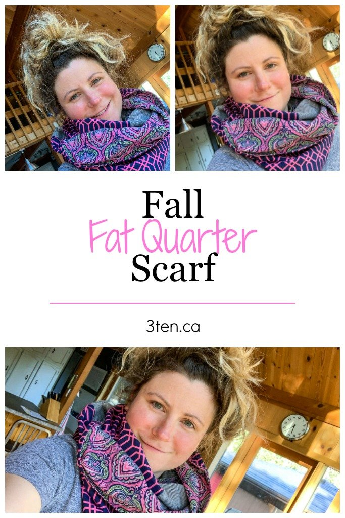 Fall Fat Quarter Scarf: 3ten.ca