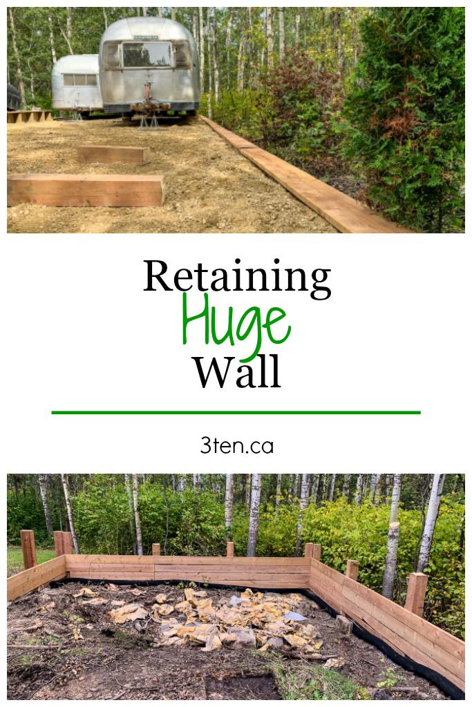 Retaining Wall: 3ten.ca