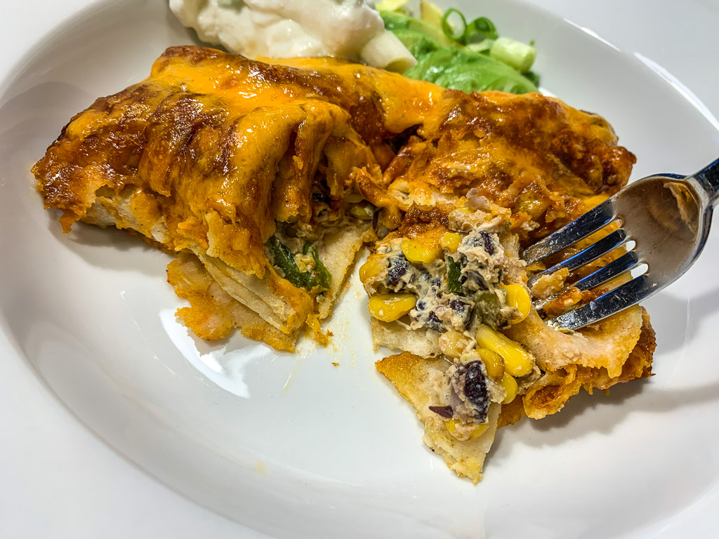 Jalapeno Popper Enchiladas: 3ten.ca