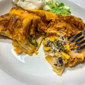 Jalapeno Popper Enchiladas: 3ten.ca