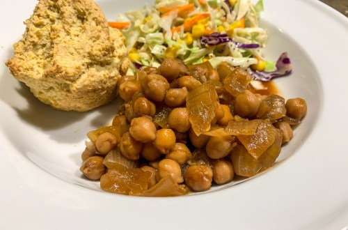 BBQ Chickpeas: 3ten.ca