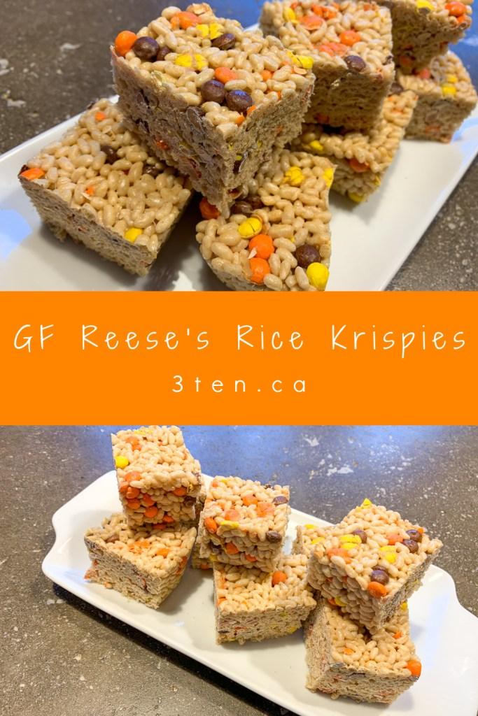 GF Reese's Rice Krispies: 3ten.ca