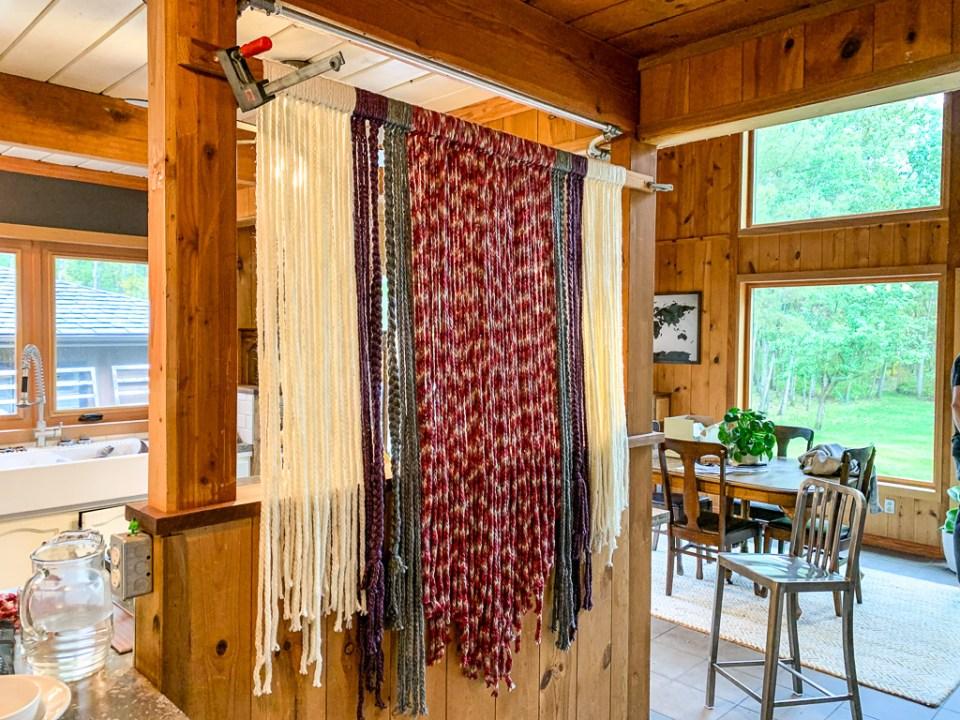 Yarn Wall Hanging : 3ten.ca