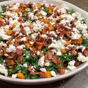 Kale and Sweet Potato Salad: 3ten.ca