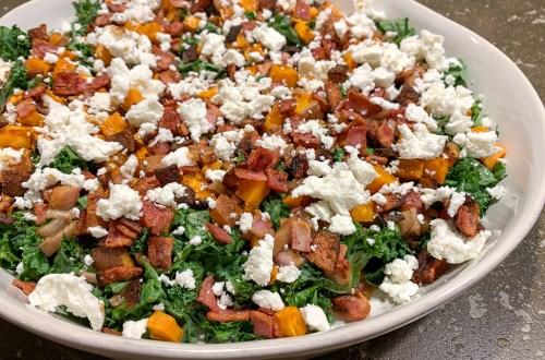 Kale and Sweet Potato Salad: 3ten.ca
