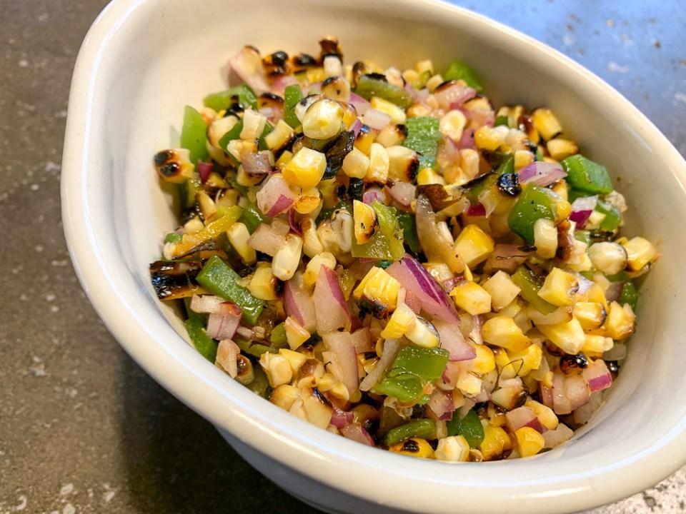 Grilled Corn Salsa: 3ten.ca