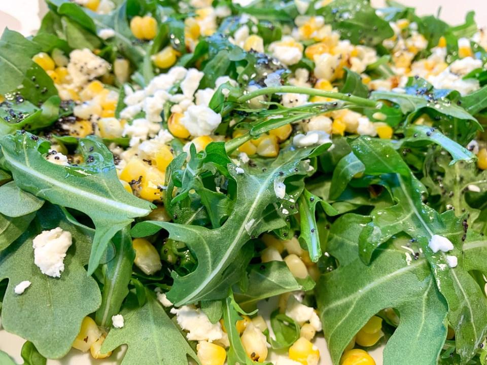 Roasted Corn and Arugula Salad: 3ten.ca