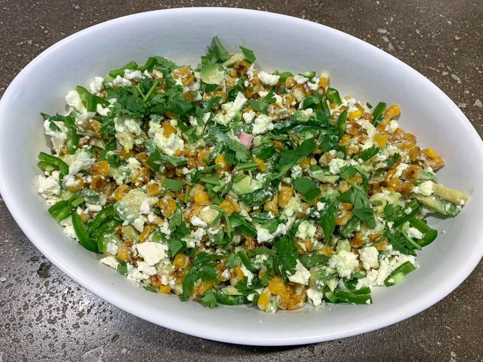 Avocado Corn Salad: 3ten.ca