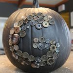Monogram Button Pumpkin: 3ten.ca
