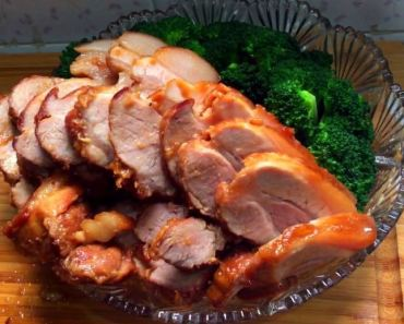 Traditional Garlic Braised Pork Belly