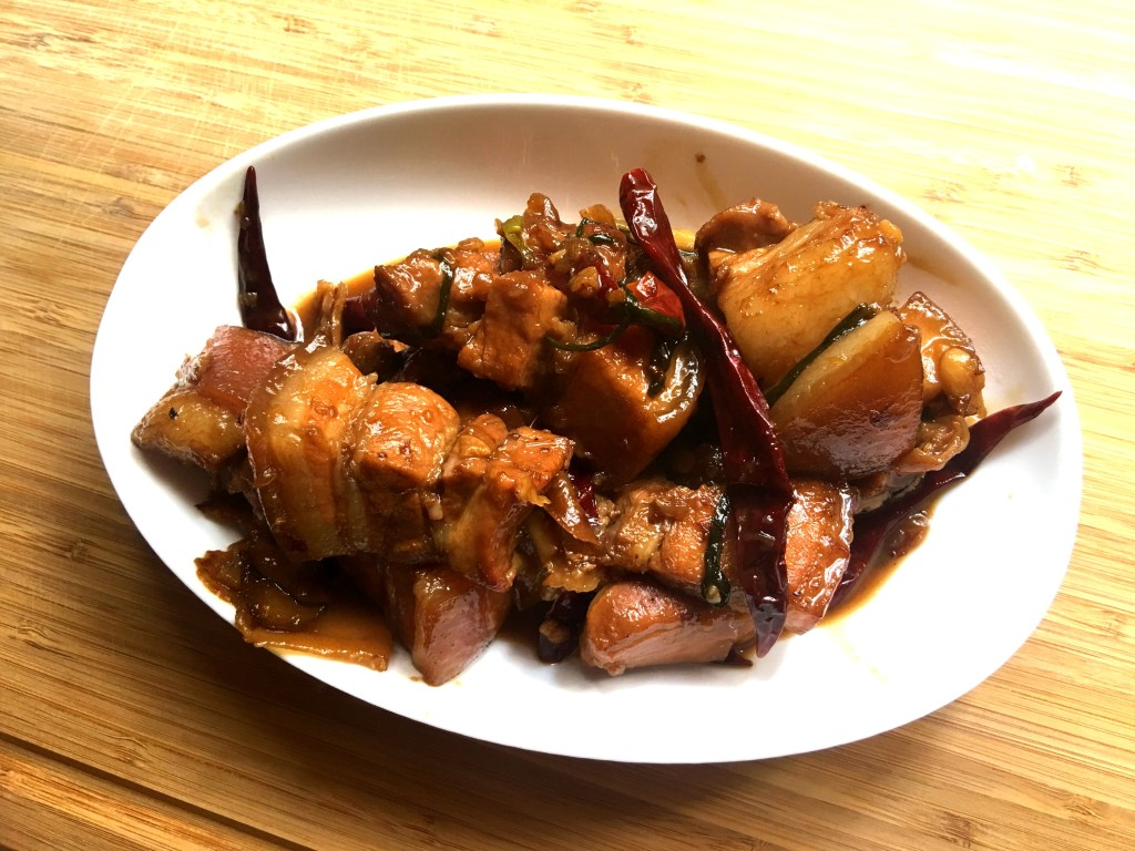 Guangdong Style Braised Pork Belly 红烧肉Hung Shao Rou