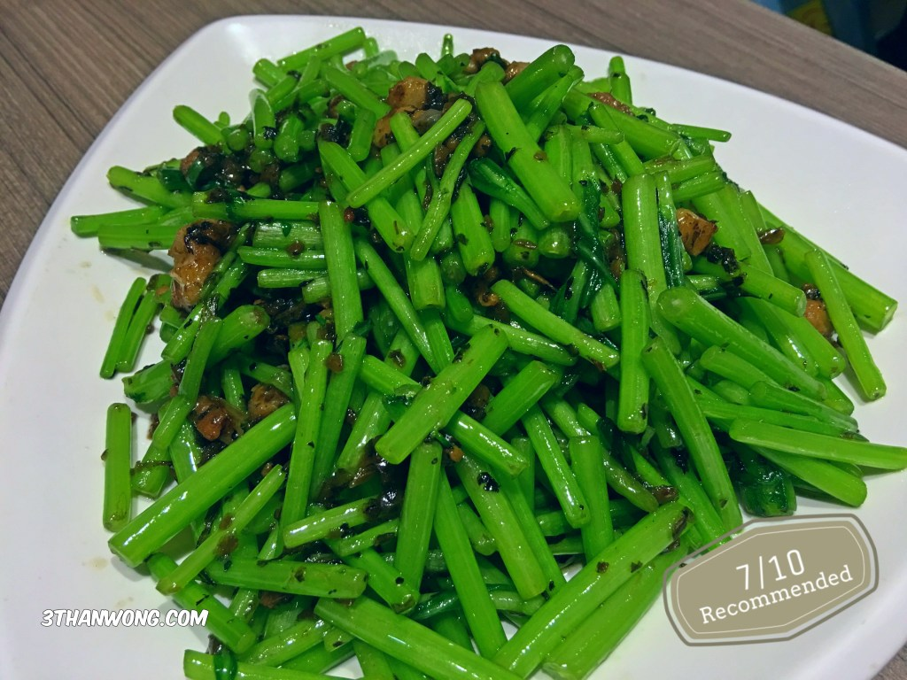 Sauteed Vege with pickled mustard leaf