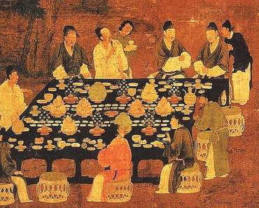 traditional chinese banquet