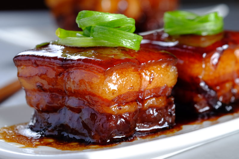 Braised dongpo pork