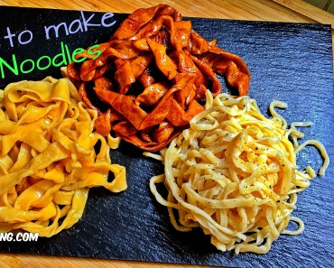 how to make noodle