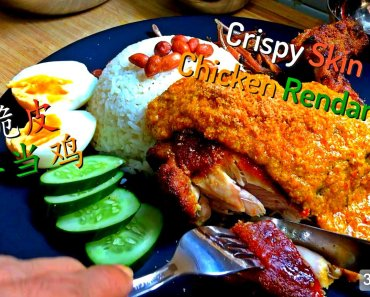 rendang chicken crispy