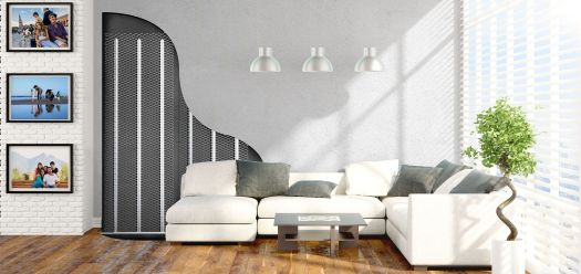 Concealed Radiators in walls