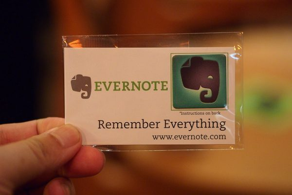 Evernote card