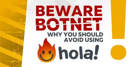 Image result for hola vpn botnet