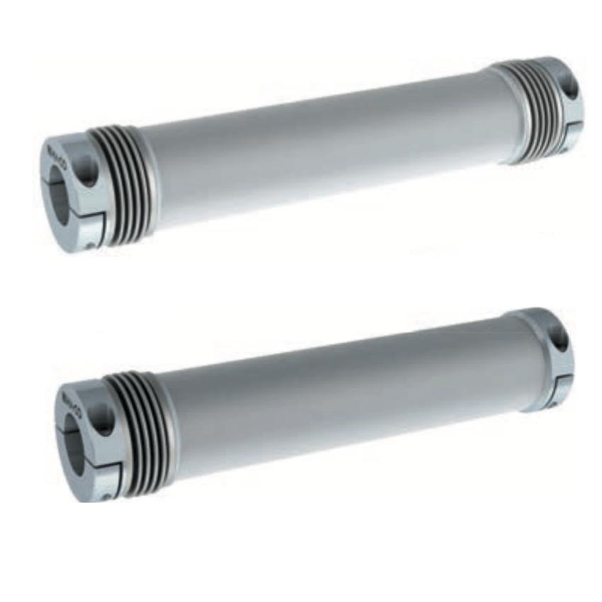 Arbre flexible aluminium à soufflet SWAB