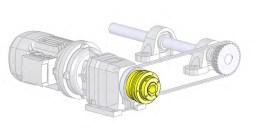 montage limiteur de couple application coaxial
