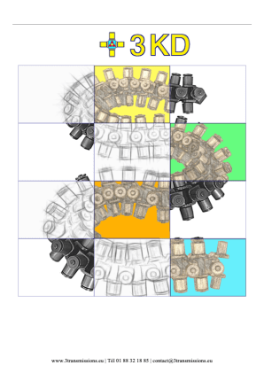 Chaine multidirection 3KD