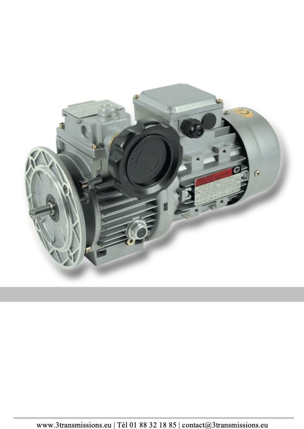 variateur de vitesse mécanique